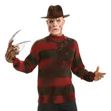 Halloween Freddy Krueger Costume Rubie U0027s Costume Scary Deluxe Freddy Krueger Sweater