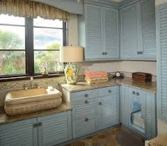 limestone counters with cat door laundry room beach style and