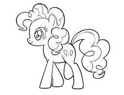 my little ponies coloring pages chuckbutt com