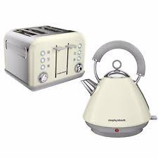 Cream 4 Slice Toaster Morphy Richards Accents Pyramid 1 5l Kettle Ivory Cream Stainless