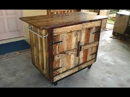 Pallet Kitchen Furniture Diy Pallet Kitchen Island Ideas