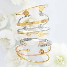 personalized bangle bracelets ciela bracelet and graham