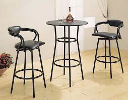 Counter Height Bar Table Black Metal Round Counter Height Bar Table Bar