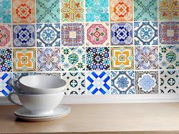 kitchen backsplash tile decals home design ideas
