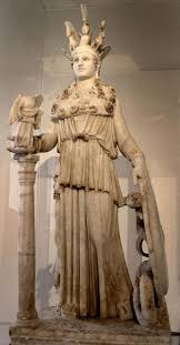 Famous Greek Statues Athena Parthenos Google Search Famous Monuments And