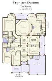 small courtyard house plans hacienda house plans small courtyard inside u shaped home with