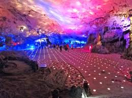 reed flute cave show no final picture of reed flute cave ludi yan guilin