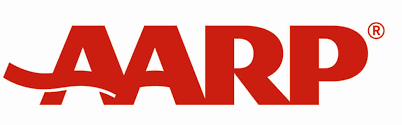 kia logo transparent aarp logo vector png transparent png images pluspng