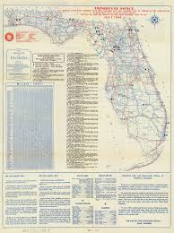 Cape San Blas Florida Map by Florida Memory Official Road Map Of Florida 1946