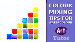 colour mixing tips for watercolour youtube