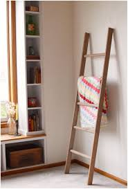 decorative ladder shelves nz large rustic blanket storage