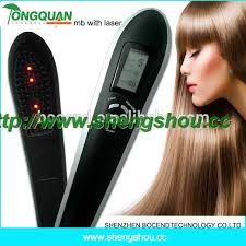 plastic hair electric vibrating automatic plastic hair growth massager tools