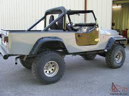 jeep scrambler lifted cj8 scrambler