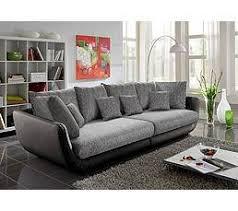 canapé gris but but canapé 4 places valencia pu noir tissu gris tous les