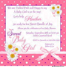 welcome home baby shower baby shower wording ideas for girl welcome home baby shower