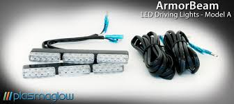 led driving lights for trucks armorbeam led driving lights model a plasmaglow