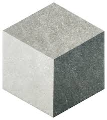 8 63 x9 88 trafico 3d hex porcelain floor and wall tiles gray