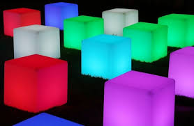 led cubes 16 inch led cube 16 different colors indoor outdoor furniture