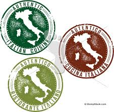 italian restaurant menu design stamps stompstock royalty free