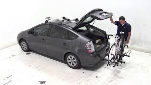 toyota prius bike rack review of the racks sport rider 2 hitch bike rack on a