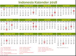 Kalender 2018 Hari Libur Indonesia Kalender Indonesia 2018 Dan Hari Libur Newspictures Xyz