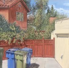 Backyard Oil Scott Marvel Cassidy Paintings