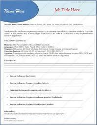 Job Resume Format Word Document Free Resume Templates 93 Astounding Professional Template