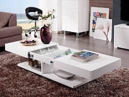 Table Salon Moderne by Table Basse Design Blanc Laque On Decoration D Interieur Moderne