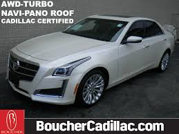 2014 cadillac cts awd certified pre owned 2014 cadillac cts 2 0l turbo luxury sedan in