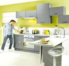 cuisine jaune et verte cuisine peinture verte castorama cuisine jaune deco cuisine