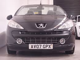 peugeot black used black peugeot 207 for sale hampshire
