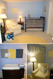 Blue And Brown Crib Bedding by Baby Room Excellent Boy Nursery Room Design With Blue Bedroom
