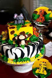 Amado Fazendo a Minha Festa Infantil: Bolos para Festinha Safari! @FQ63