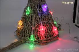 Led Christmas Pathway Lights Cheap String Lights 7 6ft 20 Led Spider Waterproof Battery Powered
