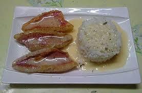 cuisiner rouget filet de rouget barbet et riz thaï au beurre blanc cuisine