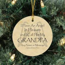 memorial christmas ornaments angel christmas memorial ornaments loss of grandfather