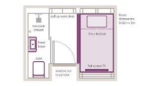 Cabin Floorplan Standard Cabin Floorplan Picture Of Yotel Amsterdam Schiphol