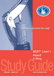 wset course level 1 english florida wine academy