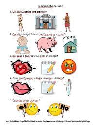 bible fun for kids life of jesus worksheets in spanish