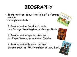 biography definition genre definition a type or class of book fiction realistic