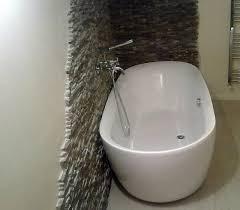 vasca da bagno vasca da bagno freestanding centro stanza spazio