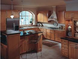 kitchen room 2017 kitchen color schemes with cherry cabinets and