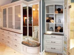 Built In Bathroom Cabinets Rich Masculine Bathroom Cabinets By Graber