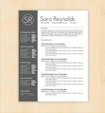 Creative Resume Template Word Word Resume Template Graphic Designer Socialmediaworks Co