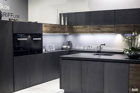 trendy black kitchen ideas black l shaped kitchen cabinet and