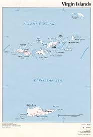 Map Of The Caribbean Islands by