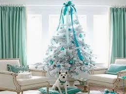 Christmas Tree Home Decorating Ideas White Tree Decor Ouida Us