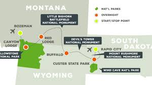 Map Of Custer State Park by Great American West National Parks Conservation Association