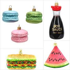food themed ornaments rainforest islands ferry