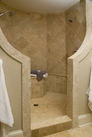 Open Shower Bathroom Design by Bathroom Ideas Of Doorless Walk In Shower For Small Space